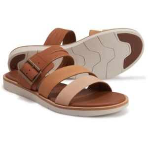 NWT Timberland Leather Adley Slide Sandals